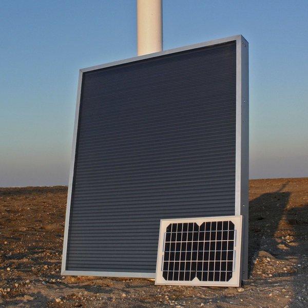 Solar air panels - Ecoair 60