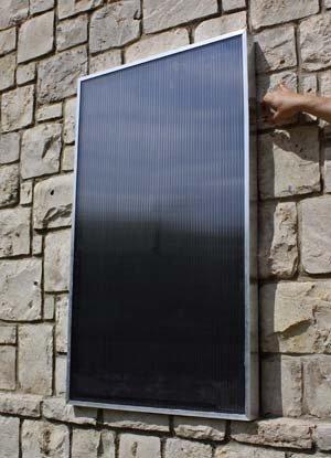Solar air panels - Ecoair 120