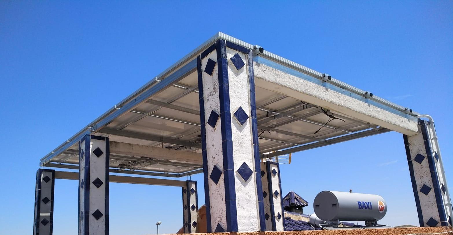 Panels created shade